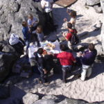 mini raid aventure : escalade, rappel, orientation, team building - Fontainebleau