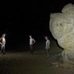 escalade nocturne Fontainebleau