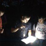 mini raid aventure nocturne : escalade, rappel, orientation, team building - Fontainebleau