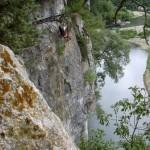 Ardèche, Cévennes, Chassezac - via ferrata