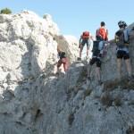 Dentelles de Montmirail, Vaucluse - via ferrata et parcours de crêtes