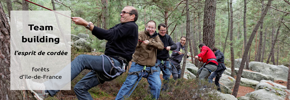 team building forêt