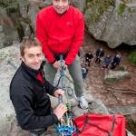 Raid aventure et team building pour groupes à Fontainebleau : escalade, rappel, orientation...