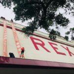 via ferrata et rappel sur toits et façade (Grand Rex - raid Pop in the city)
