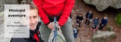 raid aventure, rappel, escalade Fontainebleau - basse def